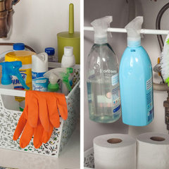 Organize Kitchen Cleaning Supplies: Smart Strategy | Easy Under-the-Sink Storage
