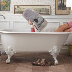 Bathroom Products - Kohler Iron-Works Historic Freestanding Cast-Iron Bathtub
