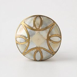 Anthropologie - Mother-Of-Pearl Knob - *Tighten with care