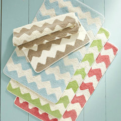 eclectic bath mats by Garnet Hill