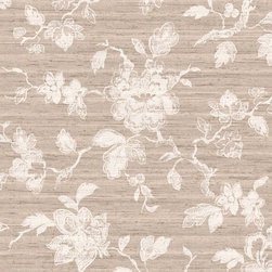 York Wallcoverings - GN2434 Wallpaper, Double Roll - Prepasted: Paste has already been applied to the back of the wallpaper and is activated with water.