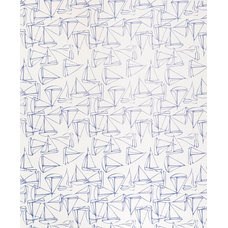 Beach Style Wallpaper by Kimberly Lewis Home
