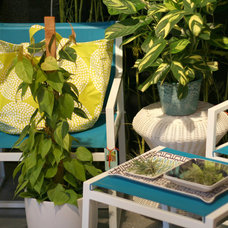 eclectic patio furniture and outdoor furniture by digs inside & out