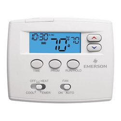 "WHITE RODGERS - PROGRAMMABLE DIGITAL THERMOSTAT 1F82-0261 - | White Rodgers 1F82-0261 | Blue 2"" display 