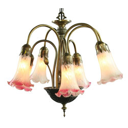EuroLux Home - Consigned Vintage French Art Deco Chandelier Frosted - Product Details