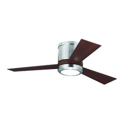 "Monte Carlo - Monte Carlo 42"" Clarity II - Brushed Steel - 3CLYR42BSD - Ceiling Fans: Monte Carlo 42"" Clarity II - Brushed Steel - 3CLYR42BSD"