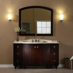 "Bathroom Design: Xylem - Xylem® CAPRI 36"" Vanity - Dark Espresso"