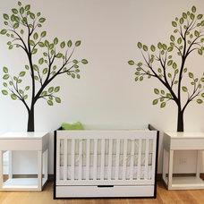 Contemporary Cribs by Cambas Design & Co.