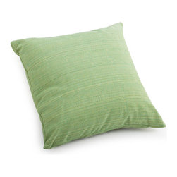 ZUO - Parrot Outdoor Pillow - Small - The approximate color - if not shape - of your average parrot, this pillow has the advantage of being much quieter. The Parrot Pillow is lime green with mixed thread for interest. Water resistant so it's perfect for the patio. Comes in small or large.