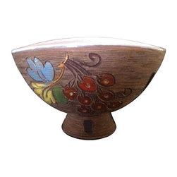 Bitossi Italian Pottery Incised Vessel - $800 Est. Retail - $475 on Chairish.com -