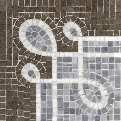 Traditional Tile by Rebekah Zaveloff | KitchenLab