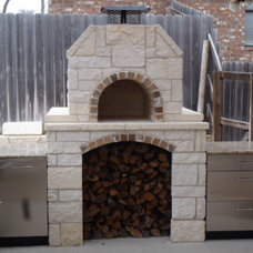 Contemporary  by BrickWood Ovens