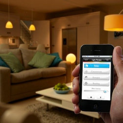 Philips Hue Lightbulb Starter Pack - Available in the Apple Store, the Philips Hue LED three-bulb starter pack comes with three bulbs, a base station and an ethernet cable to connect them to the network.