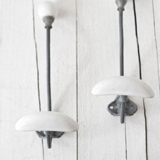 Contemporary Hooks And Hangers by Bodie and Fou