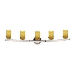 Access Lighting - Access Lighting 63815-47-CH/AMB Classical Modern Bathroom Light - Chrome - Access Lighting 63815-47-CH/AMB Classical Modern Bathroom Light In Chrome