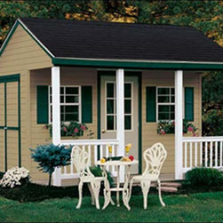 Fifthroom - Cabana Shed with Vinyl Siding -