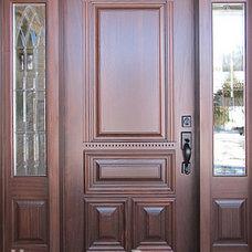 Traditional Front Doors by Homestead Doors, Inc.
