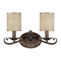 Capital Lighting - Capital Lighting Reserve Traditional Wall Sconce X-015-TR7111 - You can't go wrong when decorating with this Capital Lighting Reserve Traditional Wall Sconce. It features a  beautiful frame in a rich, rustic finish with gracefully flowing scroll work and two moonlit mica, stay-straight shades. It's a wonderfully elegant and sophisticated fixture that's sure to add a touch of style to your d&#233:cor.