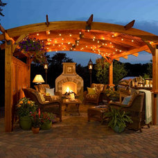 Traditional Gazebos by The Outdoor GreatRoom Company