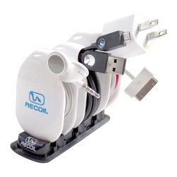Recoil Manufacturing - Recoil Automatic Cord Winders - MML Combo Pack - A great starter pack to organize and store all types of cords.