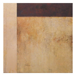Sandstone, Original, Painting - Multiple panel painting, warm earth colors, rich visual texture