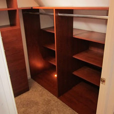 Traditional Closet by Carson Closets & Cabinetry