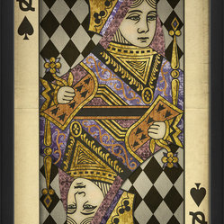 """Queen of Spades"" Print"