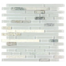 Contemporary Mosaic Tile by All Marble Tiles
