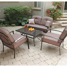 Contemporary Outdoor Lounge Sets by Walmart