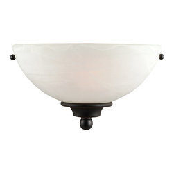 Design House - Design House 514554 1 Light Up Lighting Wall Sconce from the Millbridge Collecti - 1 Light Up Lighting Wall Sconce from the Millbridge CollectionThe Design House 514554 Millbridge Wall Sconce, part of the Millbridge Collection, is simple and affordable with a well-built design. This product is designed for indoor lighting and blends traditional aesthetics with the latest trends in interior design. Providing your home with warm nurturing light, this product keeps bedrooms and dining areas well lit. With glare-free illumination and spot-on color rendition, this light is perfect for your bathroom or lavatory. This light meshes modern aesthetics with industry leading features and offers safe, glare-free light. The oil rubbed bronze finish adds warmth to any room and the simple design matches any decor. This collection is available in a wide range of styles to accent any room or home decor. This light is perfect for hallways, bedrooms and dining areas and is a beautiful accent to any wall. This fixture uses a (1) 60-watt bulbs (not included) and is UL listed to ensure the highest quality possible. The Millbridge Wall Sconce is available in a variety of style and is aesthetically pleasing and affordable. The Design House 514554 Millbridge Wall Sconce comes with a 10-year limited warranty to the original purchaser to be free from defect in materials and workmanship. With a strong corrosion resistant finish, this product attests to the quality of all Design House products, and integrates traditional curves with the amenities of industry leading features. Design House offers products in multiple home decor categories including lighting, ceiling fans, hardware and plumbing products. With years of hands-on experience, Design House understands every aspect of the home decor industry, and devotes itself to providing quality products across the home decor spectrum. Providing value to their customers, Design House uses industry leading merchandising solutions and innovative programs. Design House is committed to providing high quality products for your home improvement projects.Features: