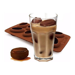 Fred & Friends - COOL BEANS Coffee Bean Ice Tray - Love the chilly goodness of iced coffee, but not the way melted ice waters down the flavor? Your java jolt will keep stronger longer with Cool Beans made from real coffee. Our Cool Beans ice tray is molded from super-strong, dishwasher-safe, pure silicone and packaged in a colorful printed gift box.