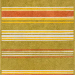 """Loloi Rugs - Loloi Rugs Oasis Collection - Citron / Multi, 3'-11"""" x 5'-10"""" - Boldly designed and brightly colored, our Oasis Collection transforms any outdoor space into a modern patio paradise. This collection is power loomed in Egypt, ensuring precision in color and design for each and every piece. And because the 100% polypropylene yarns are specially tested to withstand UV rays and rain, it's the perfect all-weather rug."""