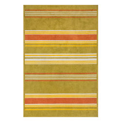 """Loloi Rugs - Loloi Rugs Oasis Collection - Citron / Multi, 9'-2"""" x 12'-1"""" - Boldly designed and brightly colored, our Oasis Collection transforms any outdoor space into a modern patio paradise. This collection is power loomed in Egypt, ensuring precision in color and design for each and every piece. And because the 100% polypropylene yarns are specially tested to withstand UV rays and rain, it's the perfect all-weather rug."""