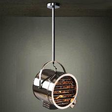 Industrial Flush-mount Ceiling Lighting by PHX LIGHTING