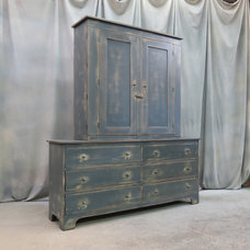 Eclectic Dressers Chests And Bedroom Armoires by Shaka Studios American Furniture