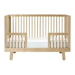 Oeuf - Oeuf Sparrow Conversion Kit (Crib Not Included), Birch - Conversion kit for the birch sparrow crib.