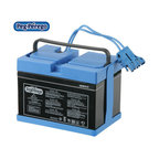 """Peg Perego - Rechargeable Battery - Keep an extra 12-Volt Battery at hand for when your Ride-On vehicle starts to lose power. Or as an alternative while the other one is charging. 12-Volt Battery Compatible With: -John Deere Gator -John Deere Power Pull -John Deere Power Loader -John Deere Power Loader with Trailer -John Deere Buck EXT -Vespa -Bombardier Traxter XL -Ducati Monster -Polaris Sportsman 2X 24-Volt Battery Compatible With: -Gaucho Super Power Features: -Available in 12 or 24 volts -Wired to produce 12 volts or 24 volts -Rechargeable battery, tested for """"cycle life"""" -Pre-selected for efficiency with Peg-Perego vehicles -Provides hours of playtime for young riders"""