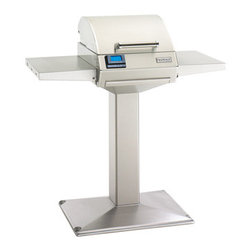 Fire Magic - Electric E250s Pedestal Grill with  Patio Base & Shelves - Electric E250s Pedestal Grill with  Patio Base & ShelvesElectric E250s Features:All 304 Stainless Steel