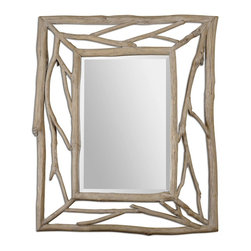 Uttermost - Amory Wood Mirror - Amory Wood Mirror