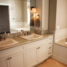 Traditional Bathroom Vanities And Sink Consoles by Moceri Construction