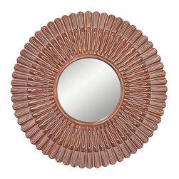 Murray Feiss - Murray Feiss Contemporary Round Mirror X-GA7811RM - Murray Feiss Contemporary Round Mirror X-GA7811RM