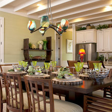 Contemporary Kitchen Lighting And Cabinet Lighting 5 Bowl Ribbon Chandelier