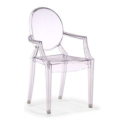 Zuo Modern - Zuo Baby Anime Chair in Transparent [Set of 2] - Chair in Transparent belongs to Baby Anime Collection by Zuo Modern Based on Zuo's popular Anime, the Baby Anime chair fits in every child's room in need of modern, classic style. Molded from polycarbonate or lexan, the Baby Anime has UV resistant coumpound mixed in, it serves the function and design. Chair (2)