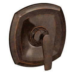 American Standard - American Standard T005.500.224 Copeland Valve Only Trim Kit, Oil-Rubbed Bronze. - This American Standard T005.500.224 Copeland Valve Only Trim Kit is part of the Copeland collection, and comes in a beautiful Oil Rubbed Bronze finish. This valve only trim kit features a metal wall escutcheon and metal lever handle.