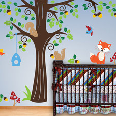 Eclectic Wall Decals by Evgie Inc