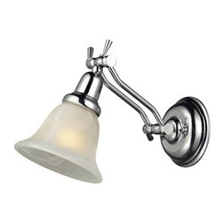 ELK Lighting - ELK Lighting 84014/1 Vintage Bath Single-Light Glass Bathroom Fixture - Specifications: