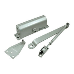 Deltana - Deltana Door Closer Commercial or Residential, Gold - Door closers are available in a variety of finishes ideal for both residential and commercial applications. They are fully adjustable and UL listed.
