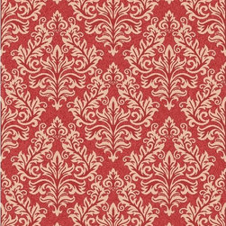 Safavieh - Safavieh Poolside Red/ Cream Indoor Outdoor Rug (9' x 12') - Perfect for any backyard,patio,deck or along the pool,this rug is great for outdoor use as well as any indoor use that requires an easy to maintain rug.