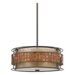 Quoizel Lighting - Quoizel MC842CRC Charles Renaissance Copper Pendant - 3, 60W A19 Medium