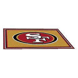 Fanmats - NFL San Francisco 49ers Area Rugs Large 4 x 6 Football Decor - Features: